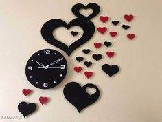 Clocks Trendy Acrylic Wall Clock Material: Plastic Pack: Pack of 1 Country of Origin: India Sizes Available: Free Size   Catalog Rating: ★4.1 (2055)  Catalog Name: Graceful Wall Clocks CatalogID_1798937 C127-SC1440 Code: 094-10056613-5511