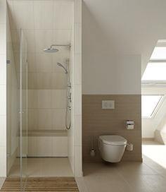 Badezimmer Mit Dachschräge? Kein Problem. Es Gibt Viele Möglichkeiten Den  Platz Sinnvoll Zu Nutzen. Bildmaterial (c) TOTO