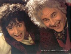 Frodo and Bilbo Baggins! :D