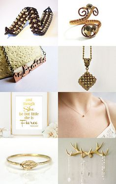 Antique Gold by Maria on Etsy--Pinned with TreasuryPin.com