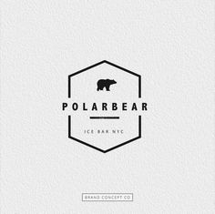 polar bear logo More: