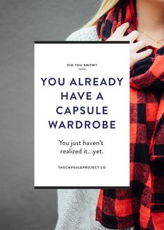 Everyone Has a Capsule Wardrobe