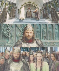 LOTR Meme - 'Now come the days of the King, and may they be blessed while the thrones of the Valar endure!'