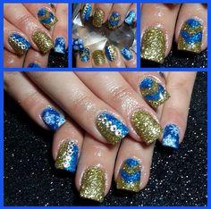 Instagram photo of acrylic nails by nailsbyleahxoxo