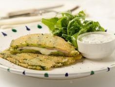Zucchini-Cordon-Bleu - Rezept