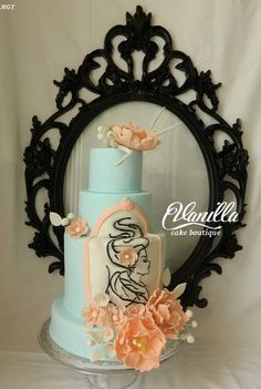 woman Vanilla cake boutique