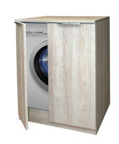 Puris Waschmaschinenschrank 70 x 70 x cm, mit Griffen Home Appliances, Washing Machine, Laundry Machine, Woodworking, Home