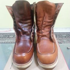 red wing men s heritage round toe 6 oro legacy leather 8822 boots
