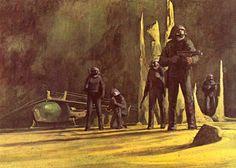 """Frank Herbert's """"Dune"""" (""""The Sardaukar Warriors,"""" by John Schoenherr)"""