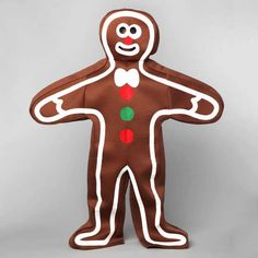 Halloween Candy Costume - Gingerbread man