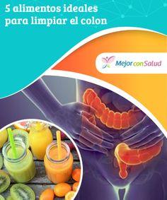5 alimentos ideales para limpiar el #colon  Todos los nutrientes que nos aportan los #alimentos son #absorbidos por el colon, el último órgano de nuestro sistema #digestivo. #RemediosNaturales