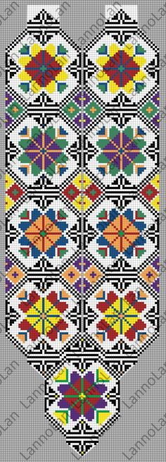 Loom Pattern - ukrainian pattern - beads by Lanno Lan