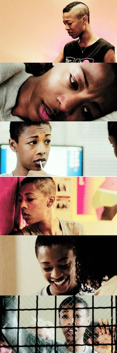 Poussey Washington: Accent à droite, bitch!  #oitnb