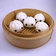Ravelry: Kawaii Steamed Bun pattern by Nina Shimizu