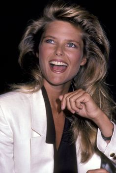 Supermodel Christie Brinkley is of today!--and is still turning heads, thanks to her signature blonde waves and million dollar smile. As we honor the supermodel's birthday, here's a look back at her best beauty moments of all time. Blonde Waves, Hair Color Streaks, Christie Brinkley, Beauty Photos, Style Icons, Supermodels, Actors & Actresses, Fashion Models, Beautiful Women