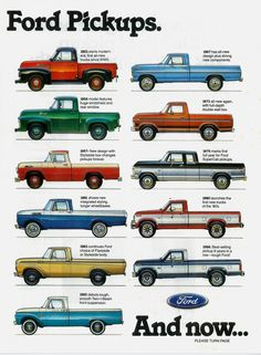 GreybullGear — 70 Years of Ford Pickups