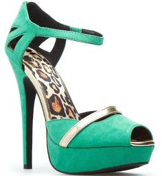 """Need a Little Color in Your Closet? Meet the Tantalizing Teal """"Kaiden"""" from ShoeDazzle"""
