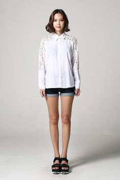 Laced Blouse NB-S