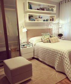 45 ideias de nichos para quartos para organização e decoração de casa