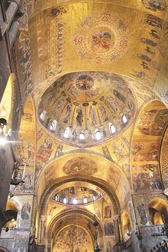 St Mark's Basilica (Basilica di San Marco) - Venice, Italy