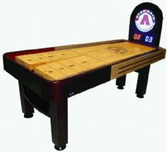 Tavern Model Snap-Back Shuffleboard TableFREE SHIPPING - Possible basement toy