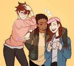 Overwatch - Teenage Heroes
