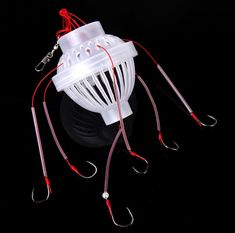 High Quality River Pond Lake Fishing Tools Fishing Tackle Box Hook With Six Stro. - High Quality River Pond Lake Fishing Tools Fishing Tackle Box Hook With Six Strong Fishing Hooks Fi - Trout Fishing Tips, Salmon Fishing, Sea Fishing, Carp Fishing, Kayak Fishing, Fishing Tricks, Fishing Techniques, Hook And Tackle, Fishing Books