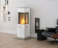 Rais Q-20 Wood Burning Stove From Fireplace Products