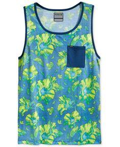 Hurley Men's Flora Knit Tank Top