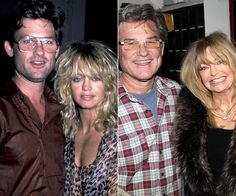 Goldie Hawn and Kurt Russell Their love stands the test of time! From Rita Wilson and Tom Hanks to Victoria and David Beckham, see which celebrity couples' partnerships have endured throughout the years. Bill Hudson, Oliver Hudson, Kate Hudson, Hollywood Couples, Celebrity Couples, Hollywood Stars, Classic Hollywood, Celebrity Photos, Celebrity News
