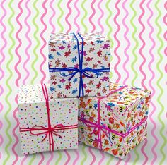 Bright & colorful patterns for wrapping paper Pattern Designs, Color Patterns, Beautiful Patterns, Floral Prints, Wraps, Gift Wrapping, Packaging, Joy, Colorful
