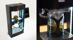 This robot will make a perfect infused coffee, tea or cocktail offering the choice of over 200 recipes. Love it. Great for parties.