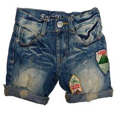 Rock Your Baby - Vintage Hawaii denim shorts