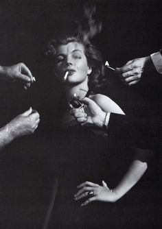 Corinne Calvet in 'Rope of Sand', 1948, directed by William Dieterle // photographed by A. L 'Whitey' Schafer