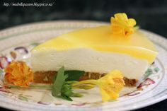 Mia Bella Passions: Carrot Cheesecake Slice...perfect for an Easter treat.  #easterbaking #easter