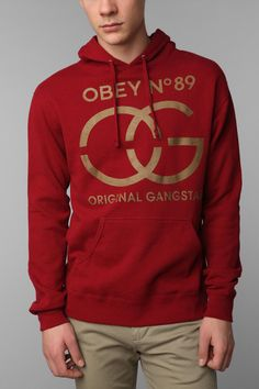 OBEY Original Gangsta Sweatshirt $68.00 http://www.urbanoutfitters.com/urban/catalog/productdetail.jsp?id=24000531&color=061&parentid=QUICKVIEW