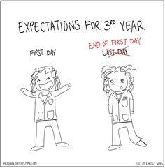 3rd year medical school advice