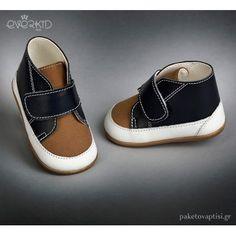 Παπουτσάκια με Velcro για τα Πρώτα Βήματα Everkid 9122M Boy Christening, Baby Shoes, Slip On, Boys, Sneakers, Clothes, Fashion, Young Boys, Trainers