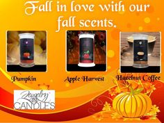 New fall candles!!!