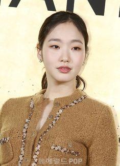 Monolid Makeup, Eye Makeup, Hair Makeup, Kim Go Eun, Beige Style, Bridal Beauty, Blush Color, Korean Women, Bridal Make Up