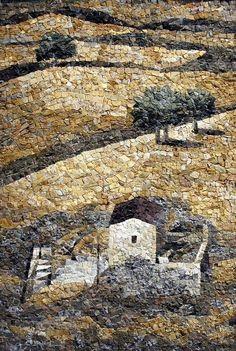 Mosaic Flower Pots, Mosaic Pots, Pebble Mosaic, Mosaic Garden, Mosaic Glass, Mosaic Tiles, Glass Art, Stained Glass, River Rock Landscaping