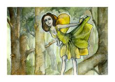 Forest Fairy by art-ori.deviantart.com on @DeviantArt