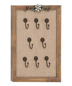 Vintage Frame Key Hook by UMA Enterprises, idea for keys in the shelving system we have.