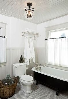 With all things bathroom on my mind, I thought I'd share some of my bathroom inspiration. I'm still optimistic that the bathroom will be our first finished project. Before I get to that, let's take a look at what we have to work with. Our new house only has one full bathroom, so it has …