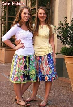 french skirts for teens 2011 _ the latest skirts 2011 | Cute Fashion