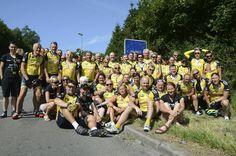 Team Rynkeby reached France #TeamRynkeby #TeamRynkebyOdense #TROdense  #Rynkeby