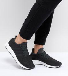 pretty nice 5acc7 f1772 adidas Originals Swift Run Sneakers In Black - Black Zapatillas De Deporte  Negras, Adidas Zapatillas