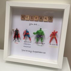 A unique personalised gift for the males in your life: Dad, Husband, Boyfriend, Granddad, Brother, Son Friend or Nephew. Let them know how important they are to you with his fun gift that is guaranteed to bring a smile to their face. It is a great gift for Father's Day, Birthdays,