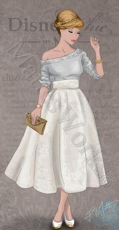 Chic Cinderella by MattesWorks.deviantart.com on @DeviantArt