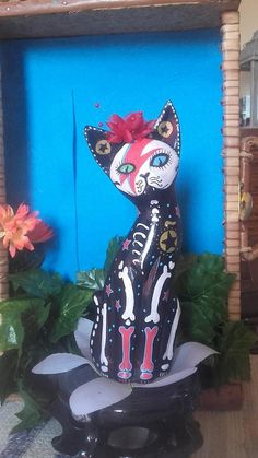 David Bowie Major Tom Cat by DonaZarzanga on Etsy